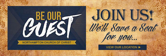 BE OUR GUEST | JOIN US! We'll save a seat for you... | Our Location >>